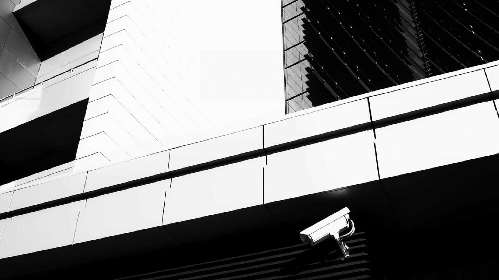 Cctv Camera in Wall